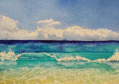 Malování krajiny akvarelem