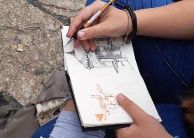 Kreslení a skicování pro talentové zkoušky