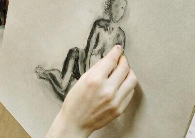 Kreslení postavy nejen tužkou, malé skicování