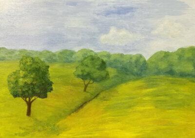 Olejomalba, malování na plátno