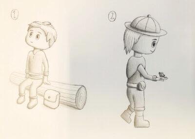 Ilustrace, komiks a kreslení tužkou