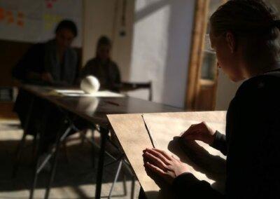 kreslení a talentové zkoušky