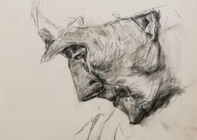 Kreslení portrétu nejen tužkou