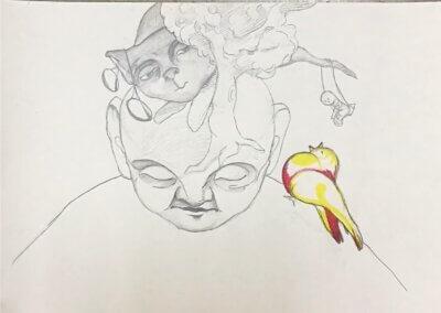 Fantazijní kreslení nejen tužkou a ilustrace