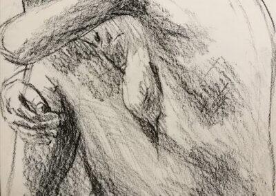 Příprava na talentovky a kreslení postavy