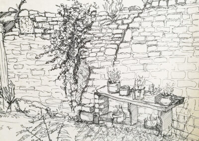 Skicování a urban sketching, kreslení nejen tužkou