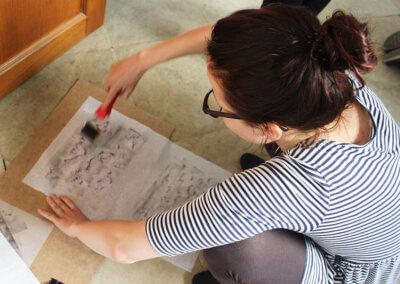Intuitivní kreslení a malování, abstrakce a fantazie