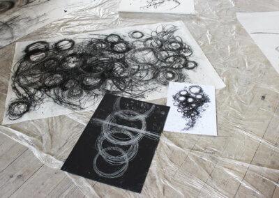 Abstraktní kreslení a výtvarné umění