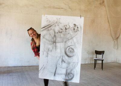 Fantazie a abstrakce, kreslení nejen tužkou