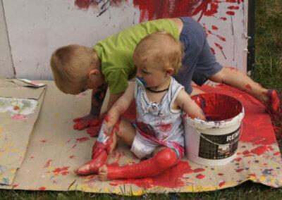 Kroužky a tvoření pro maminky s dětmi Start-Art