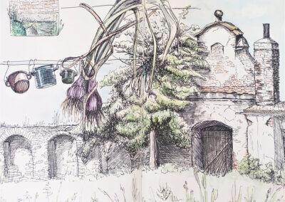 Kreslení, sketching, komiks, urbansketching