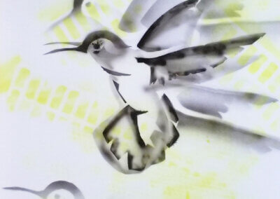 Airbrush stencil a malování airbrushem