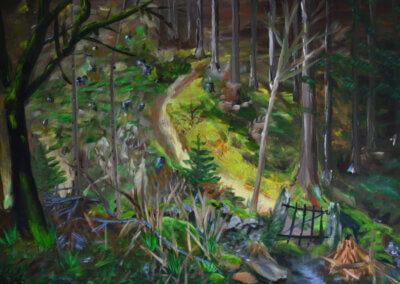 Olejomabla a malování na plátno