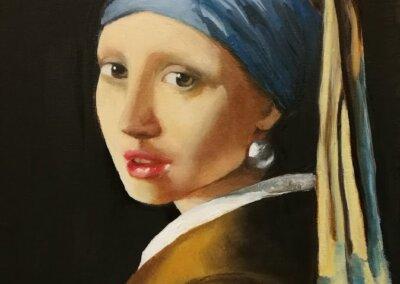 Malování na plátno a olejomalba