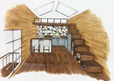Design interiéru a talentové zkoušky