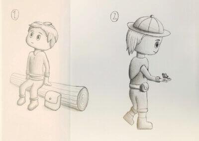 Kreslení komiksu