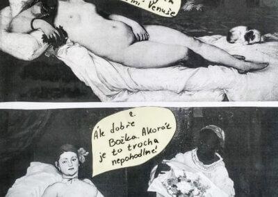 Přijímačky a talentovky, dějiny umění